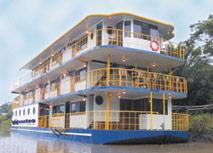 barco expedicion amazonas