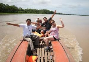 Canoa expedicion amazonas